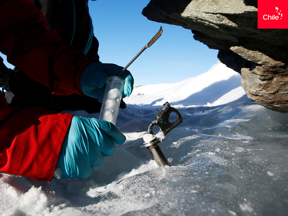 Ciencia en Glaciar Unión, Antártica | Marca Chile | Toolkit