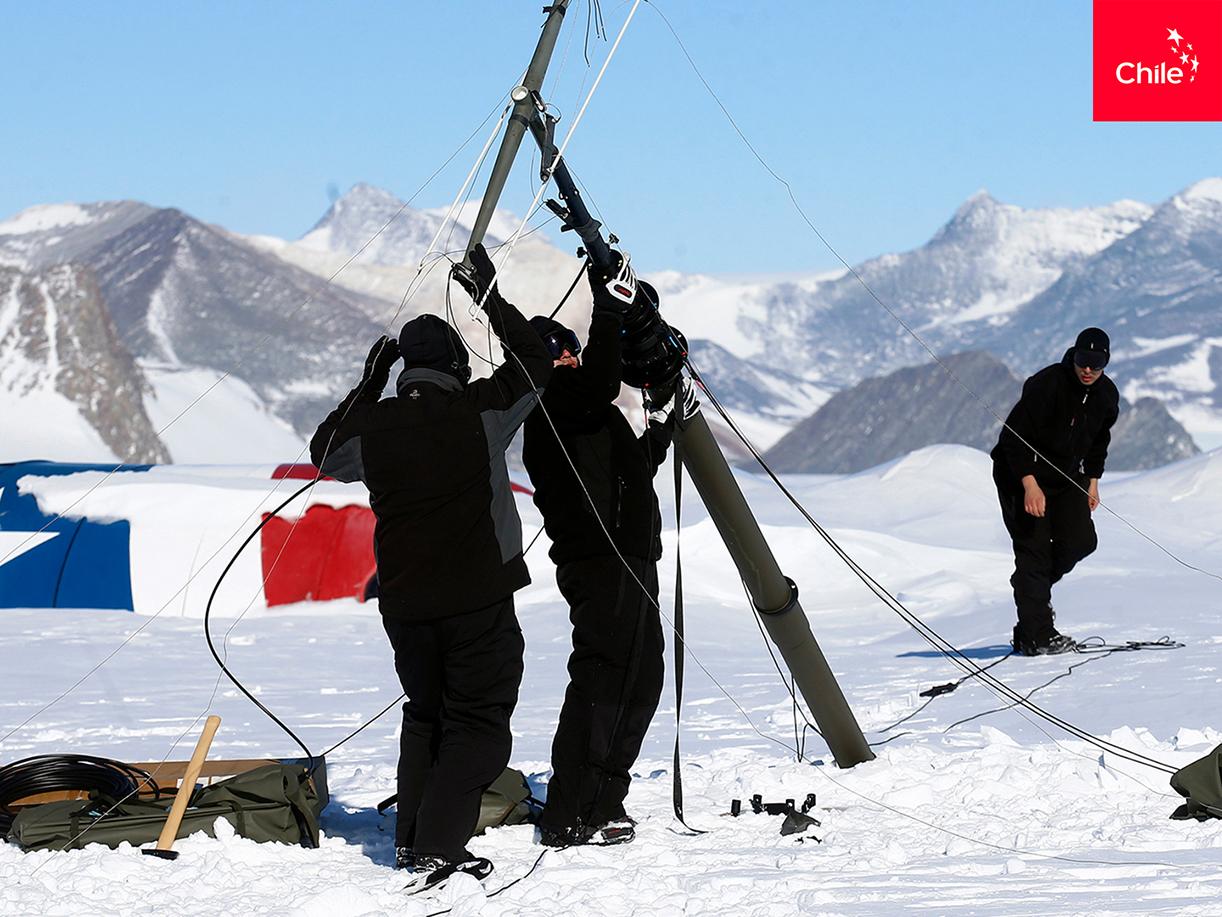 Científicos en La Antártica | Marca Chile | Toolkit