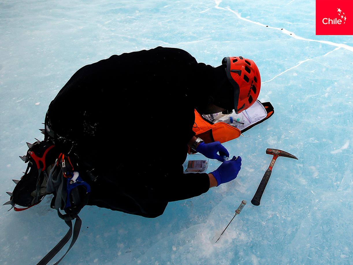 Estudios en Glaciar Unión, Antártica | Marca Chile | Toolkit