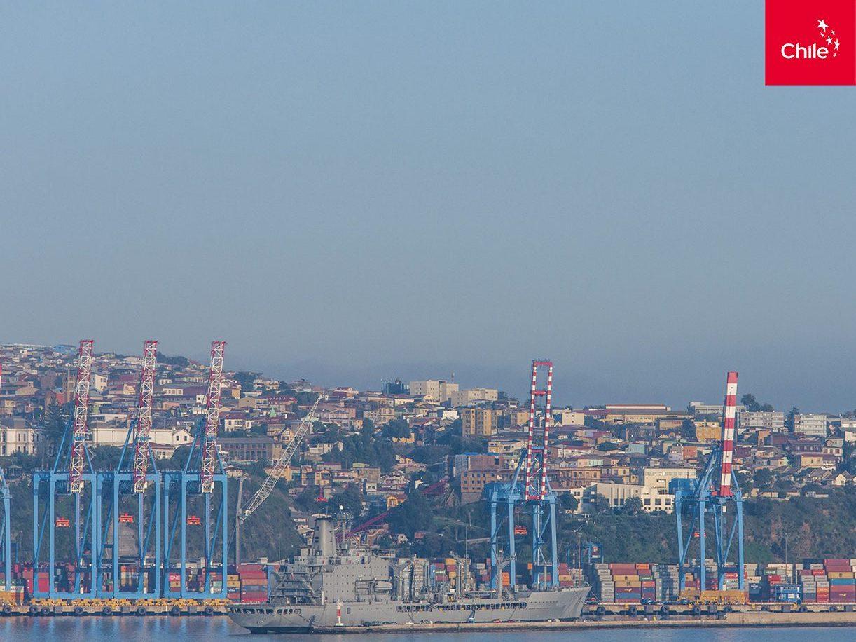 Gruas en el puerto | Marca Chile | Toolkit