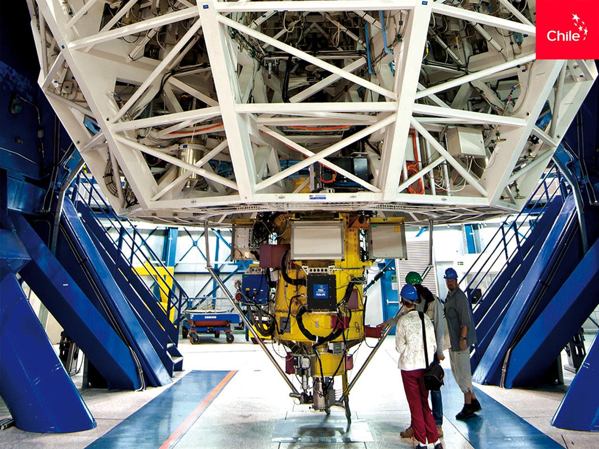 Interior Observatorio Paranal | Marca Chile | Toolkit