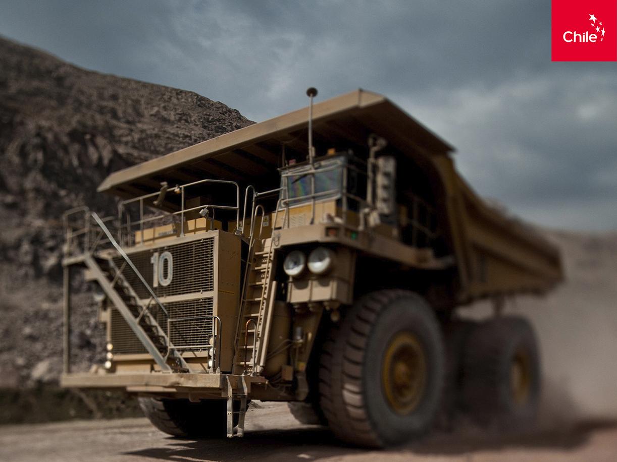 Maquinaria minera | Marca Chile | Toolkit