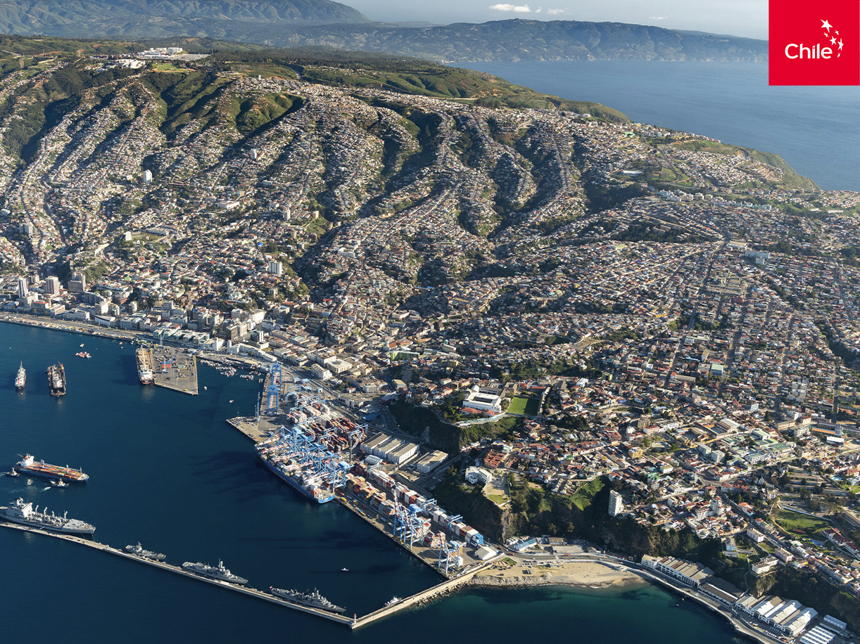 Puerto de Valparaíso | Marca Chile | Toolkit