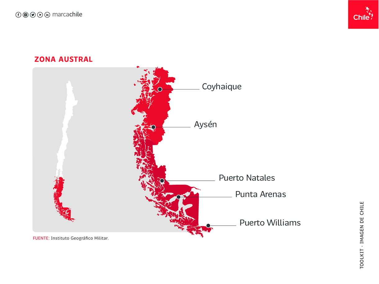Zona Austral | Marca Chile | Toolkit