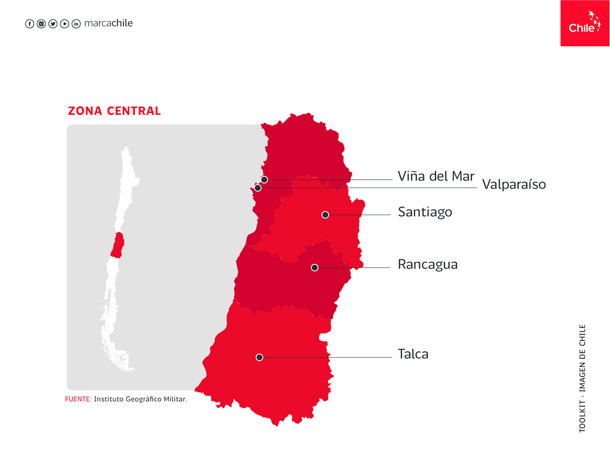 Zona Central | Marca Chile | Toolkit