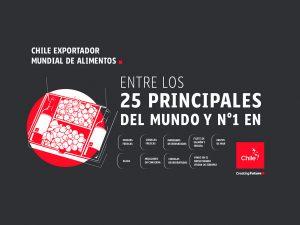 Chile exportador mundial de alimentos | Toolkit | Marca Chile